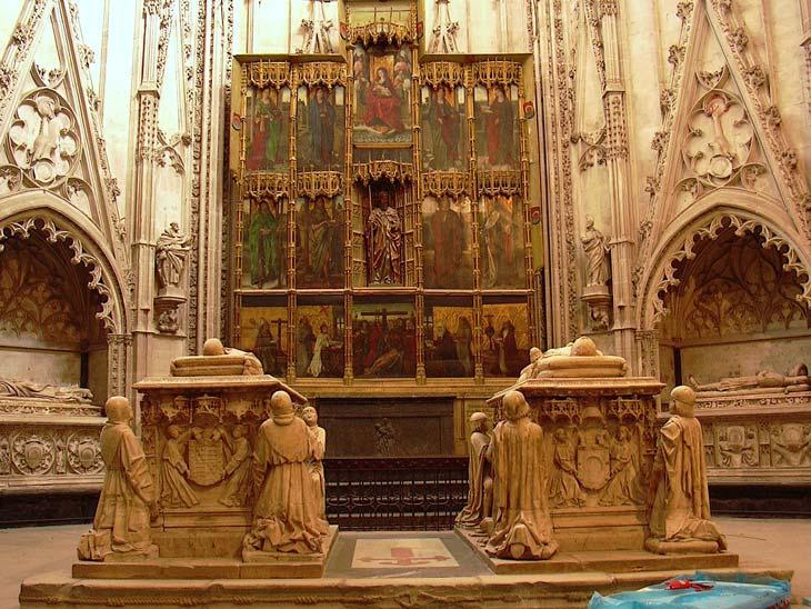 Capilla de Santiago diseñada en el siglo XIII
