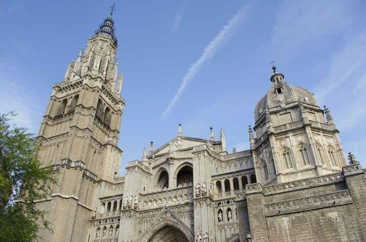 Fachada principal de la Catedral de Toledo