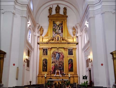 Interior del Convento de Santo Domingo el Antiguo