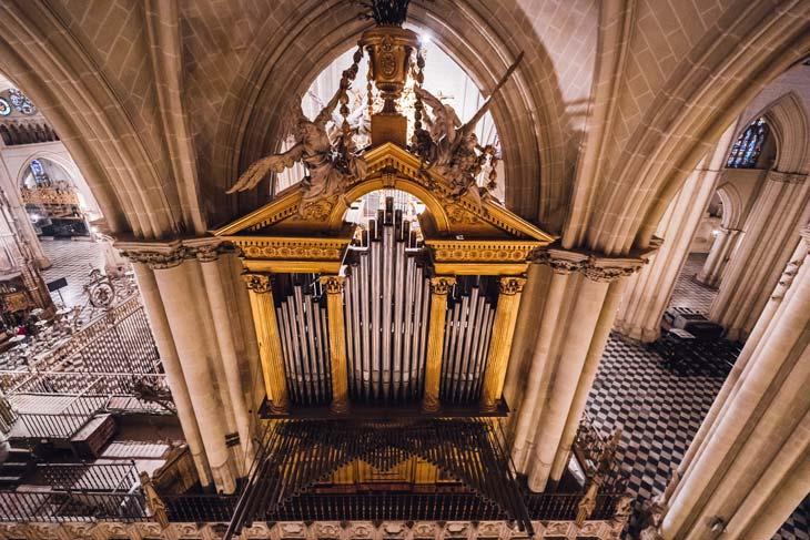 Diez órganos de la Catedral de Toledo