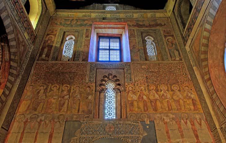 Frescos iglesia de San Román