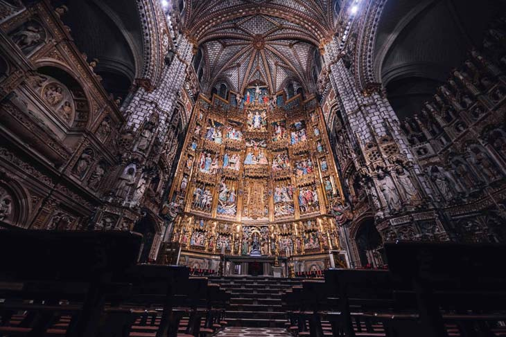 Altar Mayor Catedral de Toledo