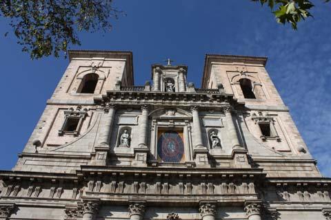 Fachada de la Iglesia de los Jesuitas