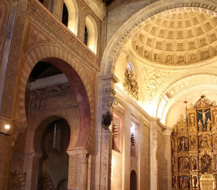 interior iglesia de san Román