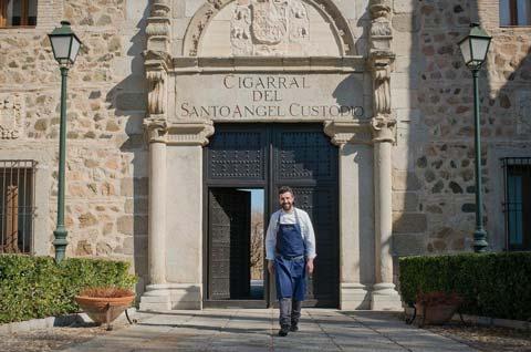 Iván Cerdeño en el Cigarral del Ángel de Toledo