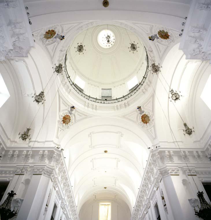 Cúpula iglesia de los jesuitas