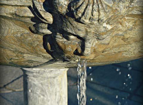 Fuente de agua en Toledo