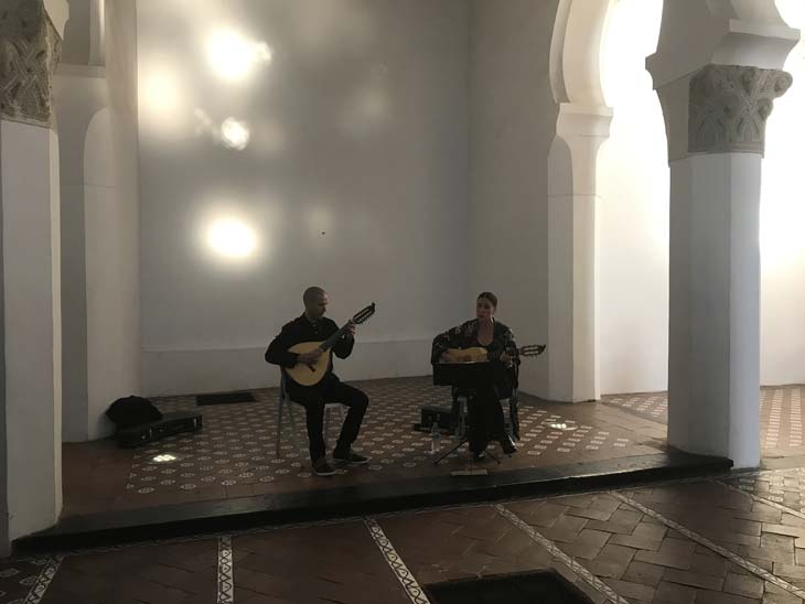 Música sefardí en vivo