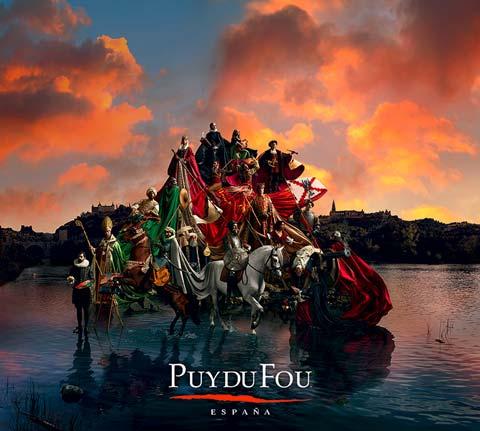 Cartel del espectáculo Puy du Fou