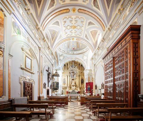 Interior de la institución de Doncellas Nobles
