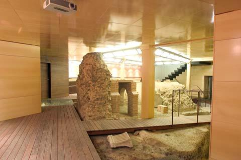 Restos de las termas romanas