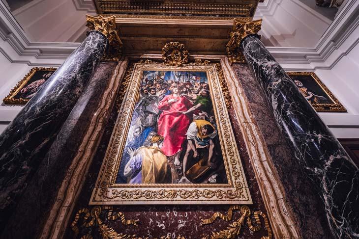 Pinacoteca española importante