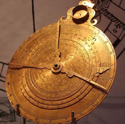 Astrolabio medieval