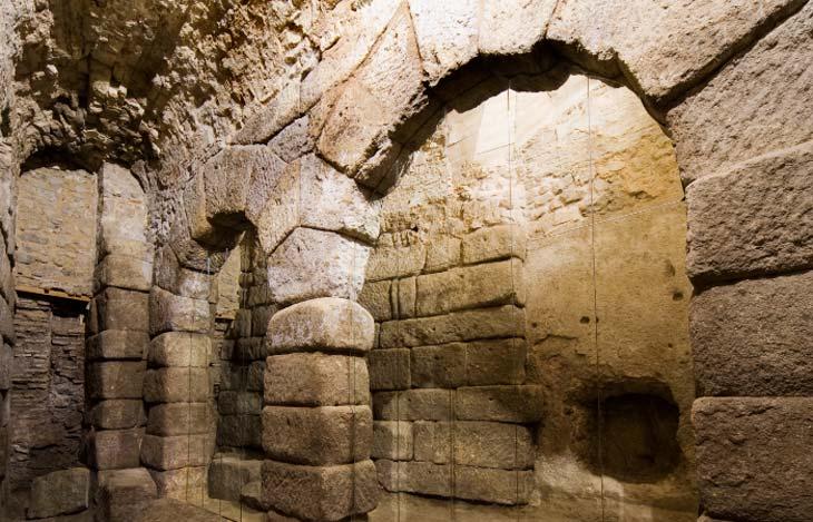 Arquitectura romana inspirada en Hércules