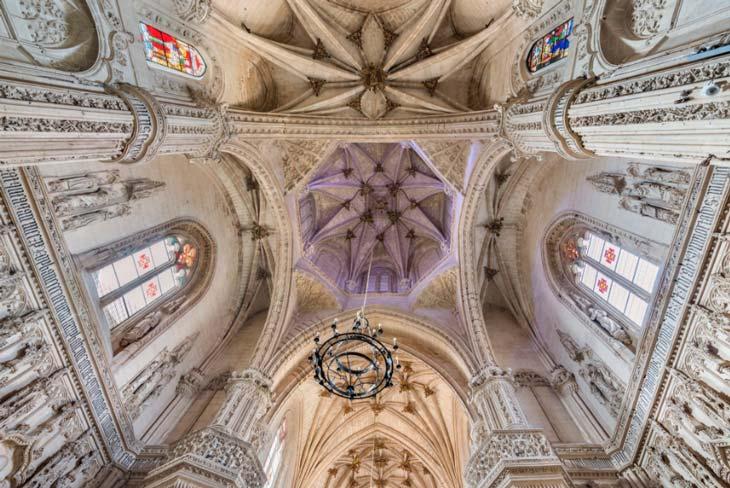 Techo del monasterio de San Juan de los Reyes