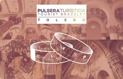 Pulsera turístistica de la ciudad de Toledo