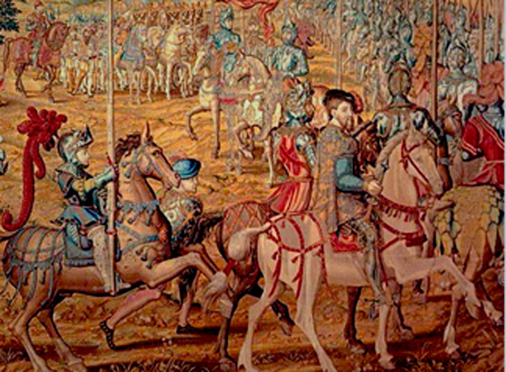 Tapiz Carlos V en la Conquista de Túnez