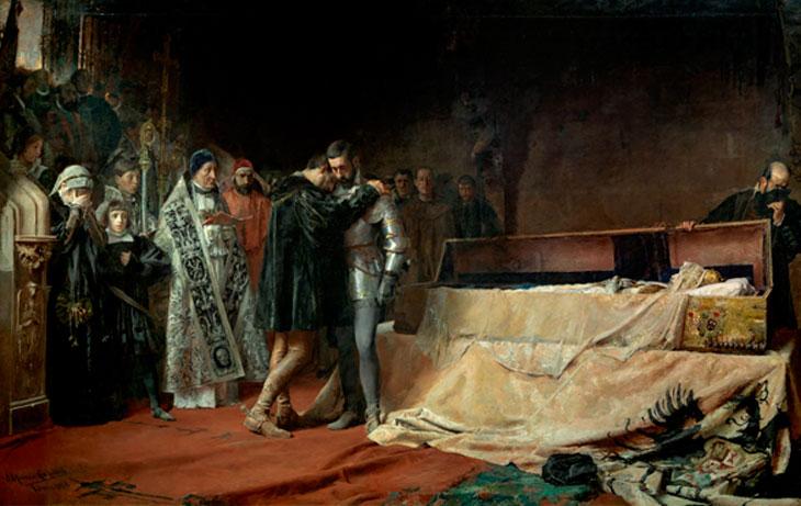 Conversión del Duque de Gandía por Moreno Carbonero