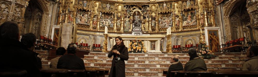 La Catedral explicada por Pilar Gordillo guía oficial de turismo