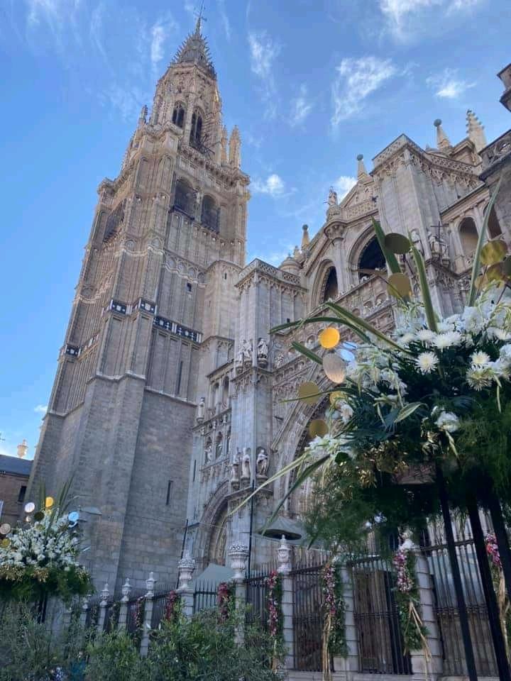 Torre de la Catedral de Toledo Corpus 2021